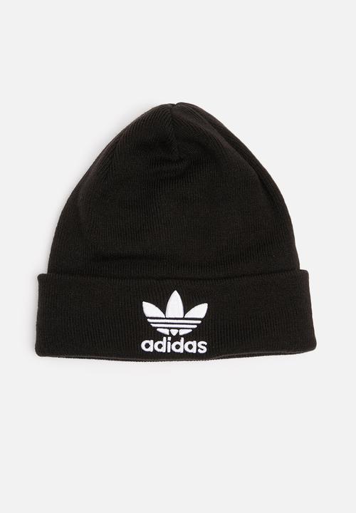 607a419e89025 Trefoil Beanie L- black adidas Originals Headwear