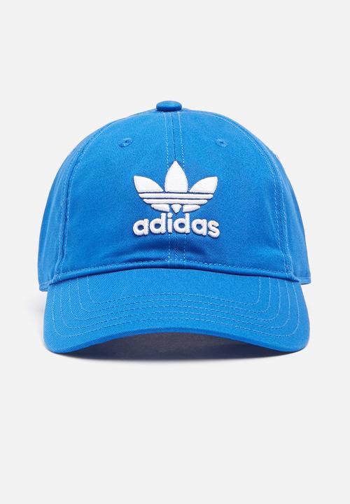 Trefoil cap OSFW - Blue adidas Originals Headwear  64ce2215cc49