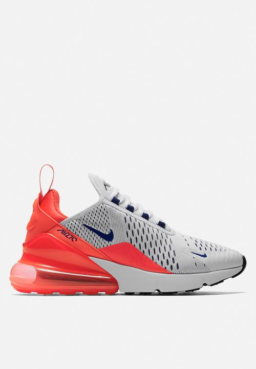 Nike W Air Max 270 - AH6789-101 - White   Ultramarine   Solar Red ... be97f3b0d
