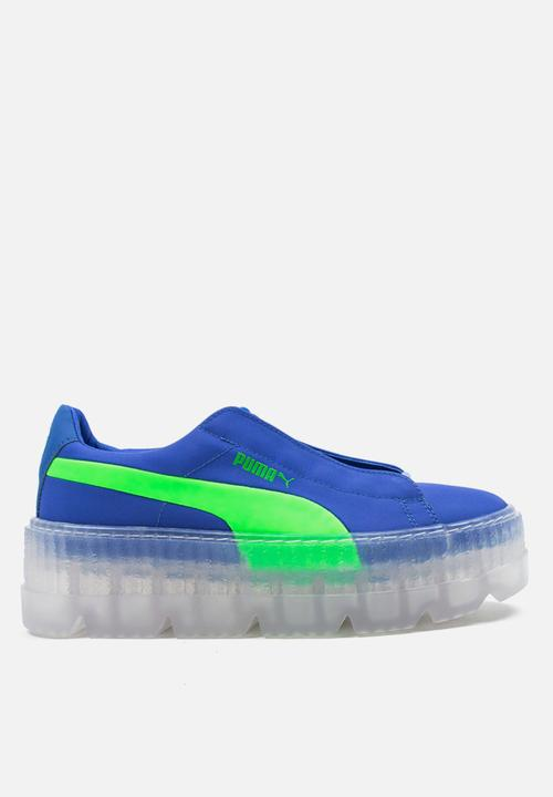 5a551a2e9155 PUMA X FENTY Cleated Creeper Surf - 367681 01   Dazzling Blue-Green ...