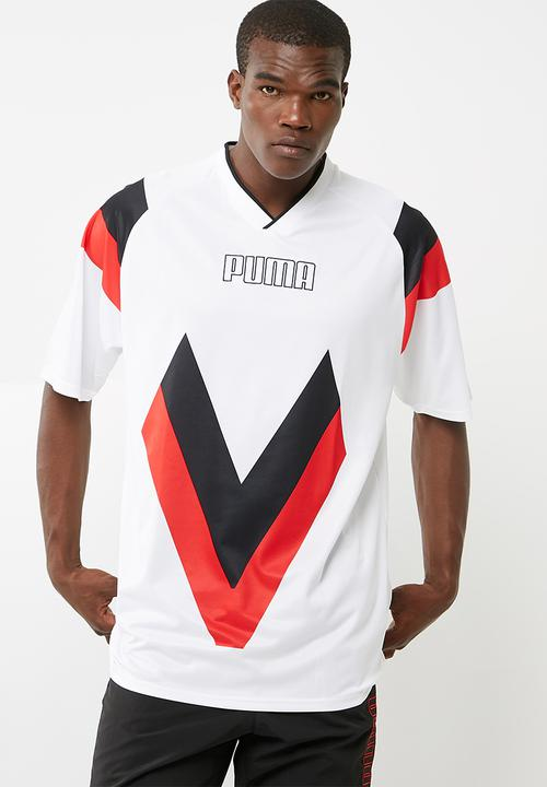02f0cd351db Heritage Football Tee - White PUMA T-Shirts | Superbalist.com