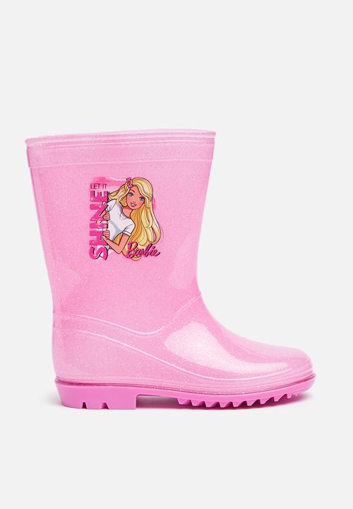 Spiksplinternieuw Kids barbie wellington boots - Pink Character Fashion Shoes XO-14