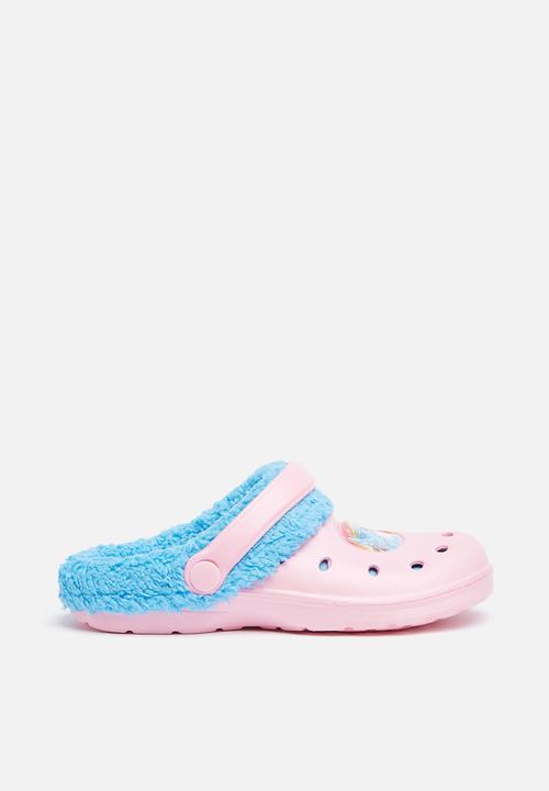 b8c81014849f Kids my little pony winter crocs - Pale Blue Character Fashion Shoes ...