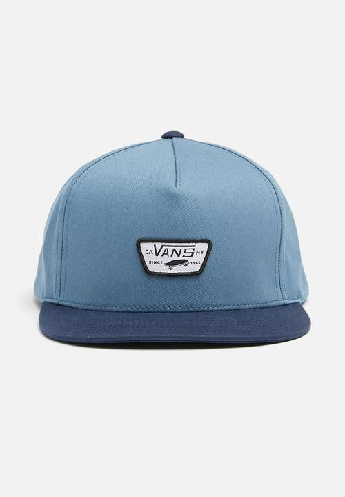 Mini Full Patch 11 Snapback-Blue Vans Headwear  b3a4172a157