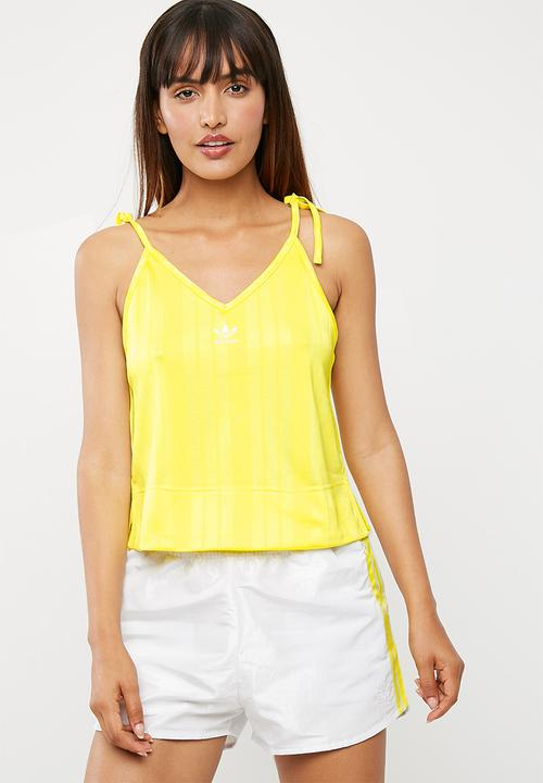 Fashion league cami - prime yellow adidas Originals T-Shirts ... ff3cb561054b6