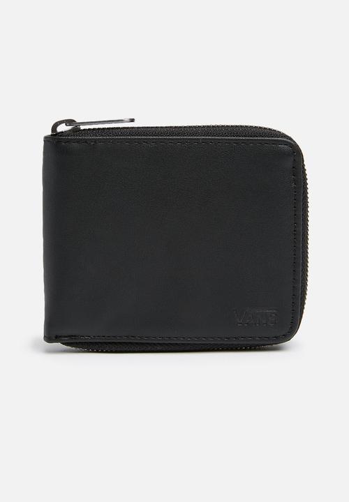 da3f6691ae9648 Drop V Zip Wallet - Black Vans Bags   Wallets