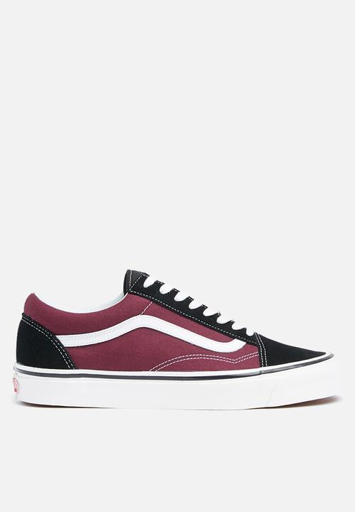 cba2a81e1cd Old Skool 36 DX - (Anaheim Factory) black og burgundy Vans Sneakers ...