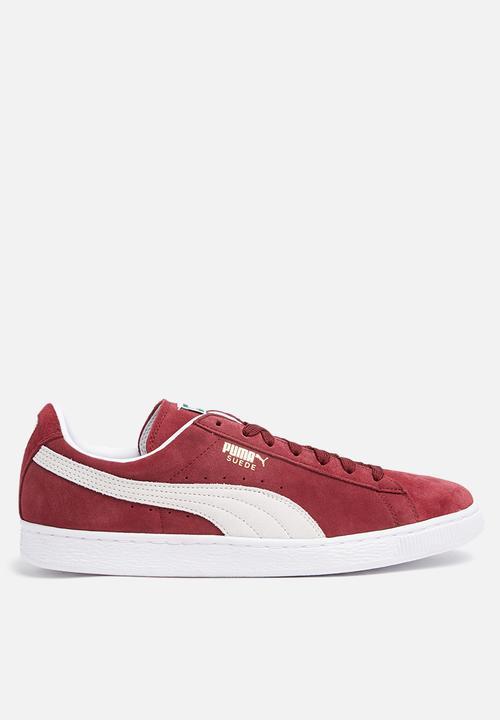a7223129f2a0 Suede Classic+ - Cabernet-White PUMA Sneakers