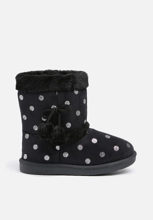 89eed8246 Kids winter boots - Black Foot Focus Shoes | Superbalist.com