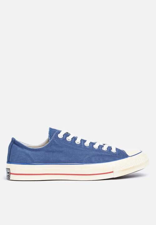 Converse CTAS OX-70 s Vintage  36-Navy Red Converse Sneakers ... f6e76c4f6
