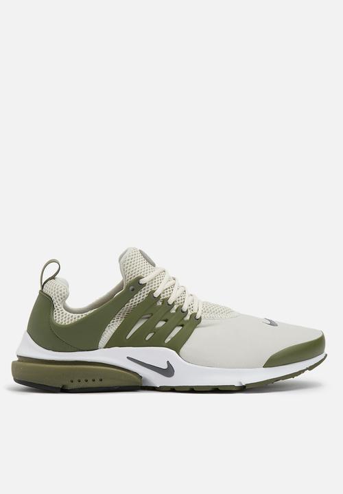 2283a8d7f7e3 Nike Air Presto ESS - 848187-018 - Light Bone   Medium Olive Nike ...
