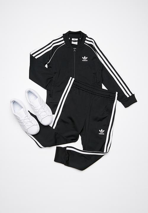 d46464539d4 Kids LTRF SST tracksuit - black adidas Originals Pants & Jeans ...