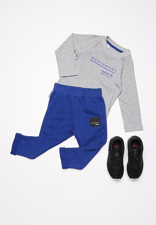 Kids I Eqt Tracksuit Grey Adidas Originals Pants Jeans