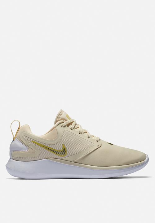 ce8726afb038 W Nike LunarSolo Running Shoe - Light cream mtlc gold star-lemon ...