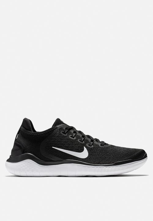 9ebab79e1d9b61 Nike Free RN 2018 - black white Nike Trainers