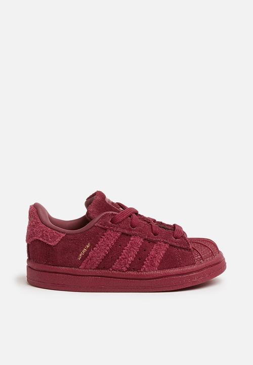 Kids Superstar I - burgundy adidas Originals Shoes  ad5f29eb70cc