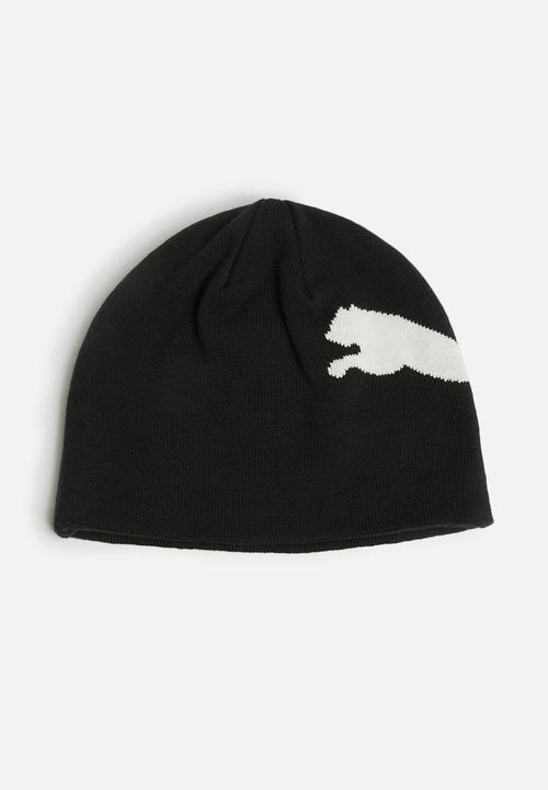 6b9c6e8fb2d ESS BIG CAT BEANIE-BLACK PUMA Headwear