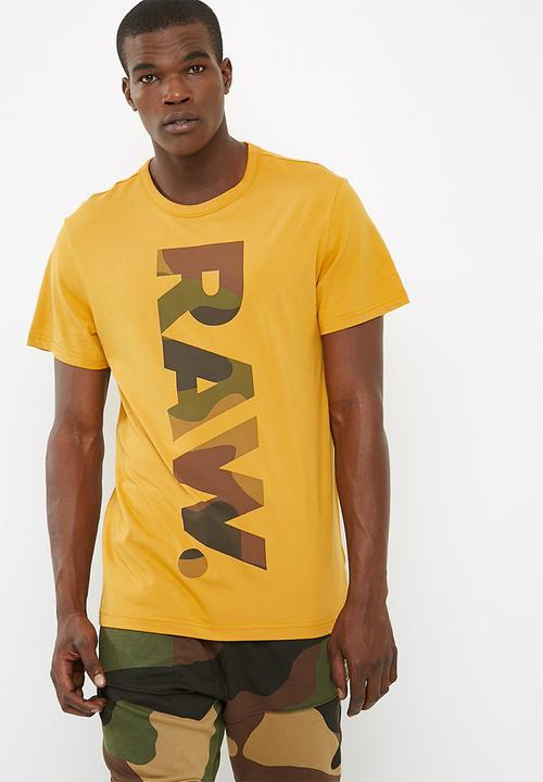591f874d443 Daba regular r t s s - Saffron G-Star RAW T-Shirts   Vests ...