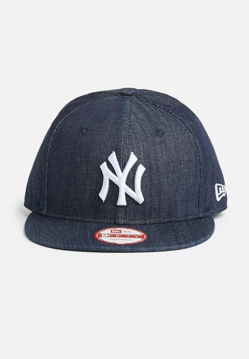4706121c218 League Basic-NY Yankees-Navy White New Era Headwear