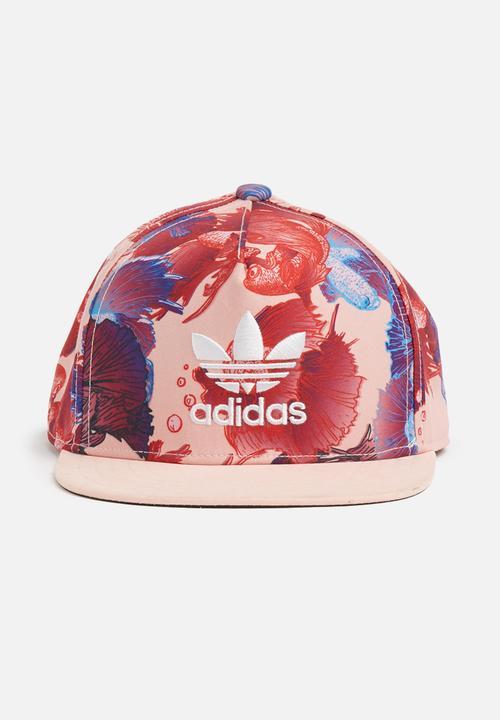 Kids Trucker Cap - Pink Multi adidas Originals Accessories ... afb866e8d18e