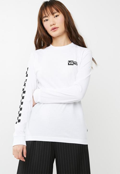0e5aad203 Half checked tee - White Vans T-Shirts, Vests & Camis | Superbalist.com