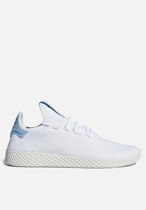 48320ac17 Pharrell Williams Tennis Hu shoe - Black FTWR White Chalk White ...