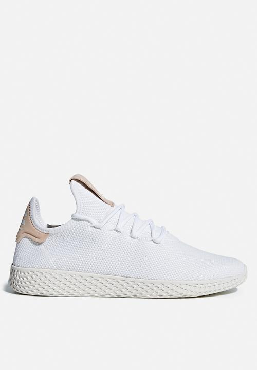 b25b44073 Pharrell Williams Tennis Hu shoe -White  Chalk White adidas ...