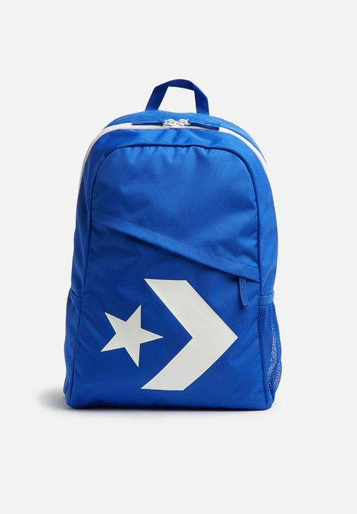 08ab19e23d09 Speed Backpack (Star Chevron) - Hyper Royal White Converse Bags ...