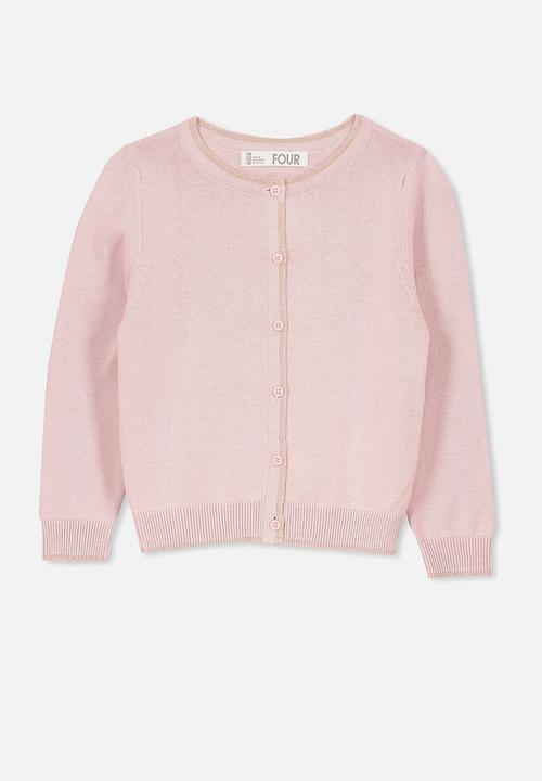 9ea5aa8a92b4 Kids suize cardigan - silverpink rose gold Cotton On Jackets ...