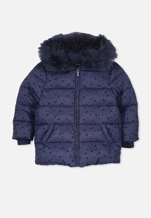 8d876612f Kids davina puffer jacket - peacat/flockstar Cotton On Jackets ...