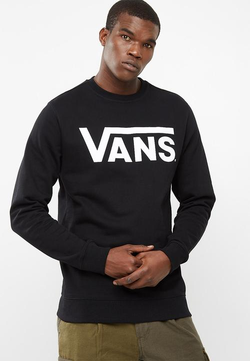 5c89f3f0f9f8bd Vans Classic Crew - Black White Vans Hoodies   Sweats