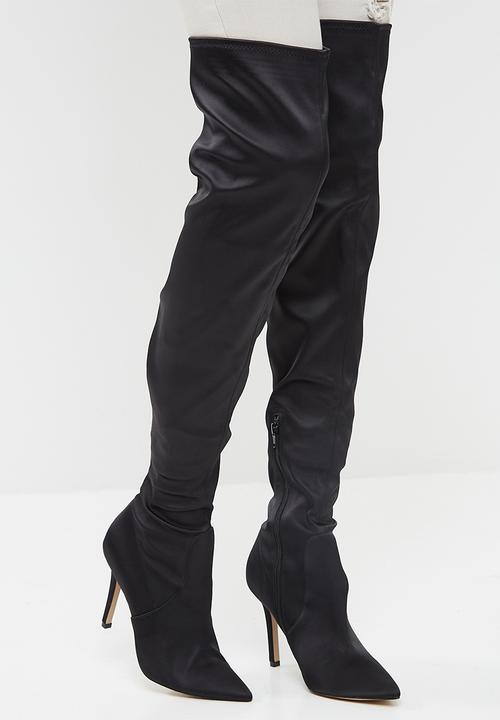 ba595e823ac Sailors - Black Satin ALDO Boots