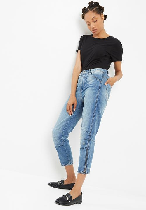 19e8723a11fe5 5622 ultra high straight jeans - Dark aged restored 195 G-Star RAW ...