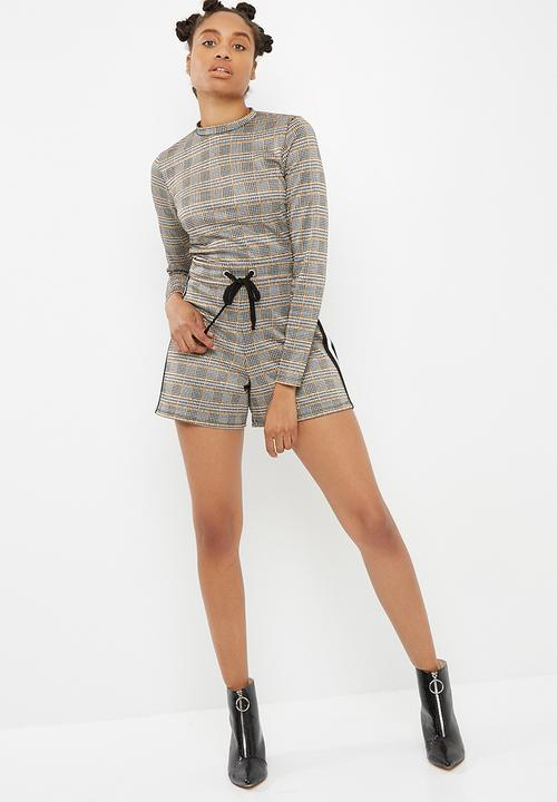 0b26a4cffd2a Check long sleeve playsuit - check dailyfriday Jumpsuits   Playsuits ...