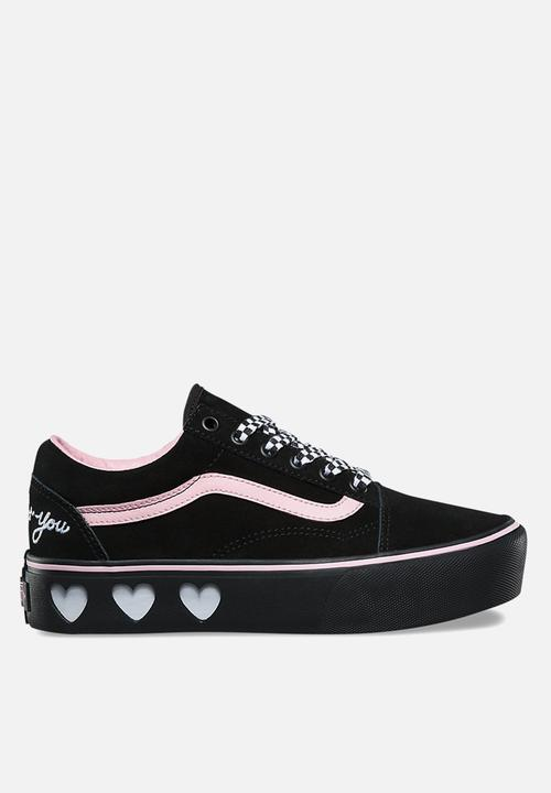 Old Skool Platform - (Lazy Oaf) black black Vans Sneakers ... e8a367929