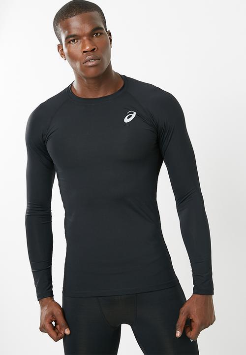 3dd360c98e61 BASELAYER LS TOP - Performance Black Asics T-Shirts