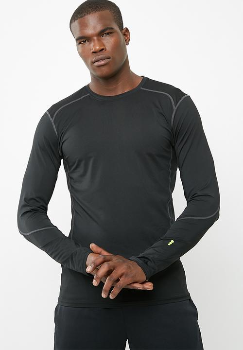 5517274de48c4 Active Stretch LS tee- black New Look T-Shirts   Vests