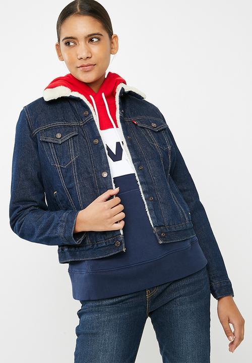 9bb9e6f6fb0 Original sherpa trucker jacket - Vast waters Levi s® Jackets ...