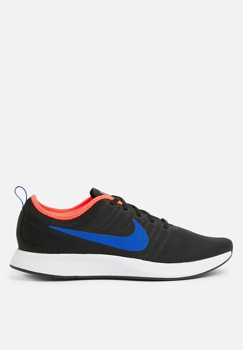 Men s Nike Dualtone Racer Shoe - Black Racer Blue-Total Crimson ... 0d1d09eac