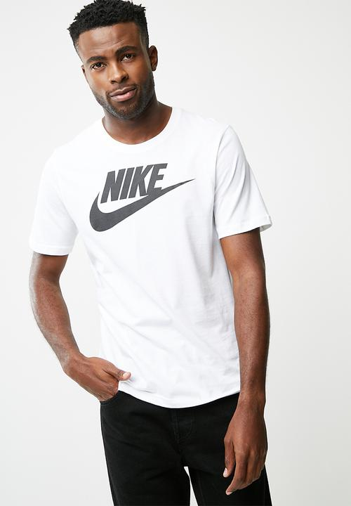 84d5f5930b27 Futura icon tee- white Nike T-Shirts