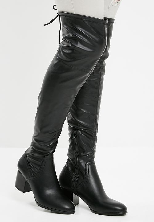 397ed723671 Abiwia over the knee boot - black ALDO Boots