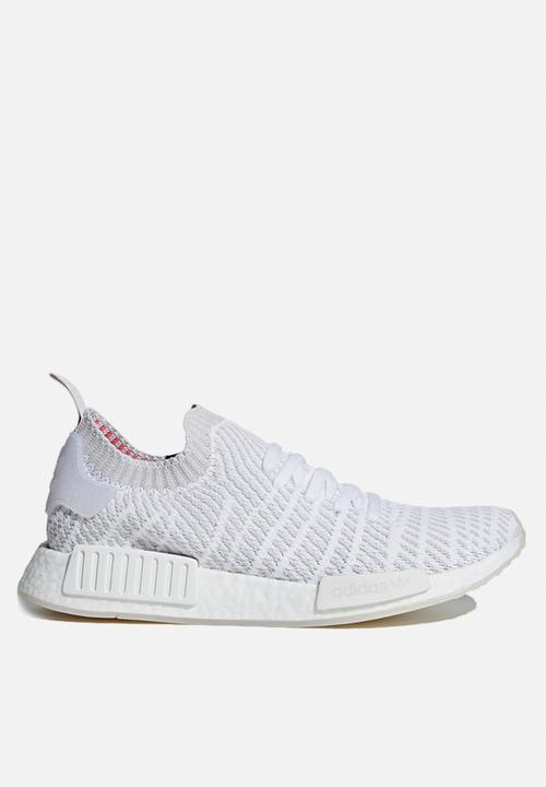 96cd5ee0b7b17 adidas Originals NMD R1 STLT PK - CQ2390 - Ftw White   Grey   Pink ...