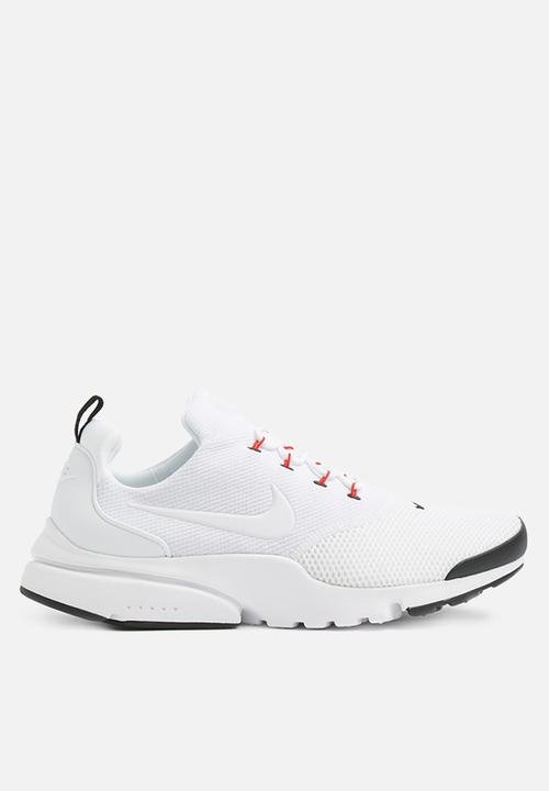 8cffc866e2f51 Men's Nike Presto Fly Shoe - White/White-Black-University Red Nike ...