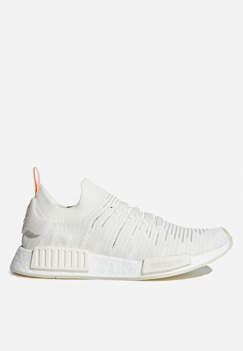 bb6579b48 NMD R1 STLT PK W B37655 White   Clear Orange adidas Originals ...