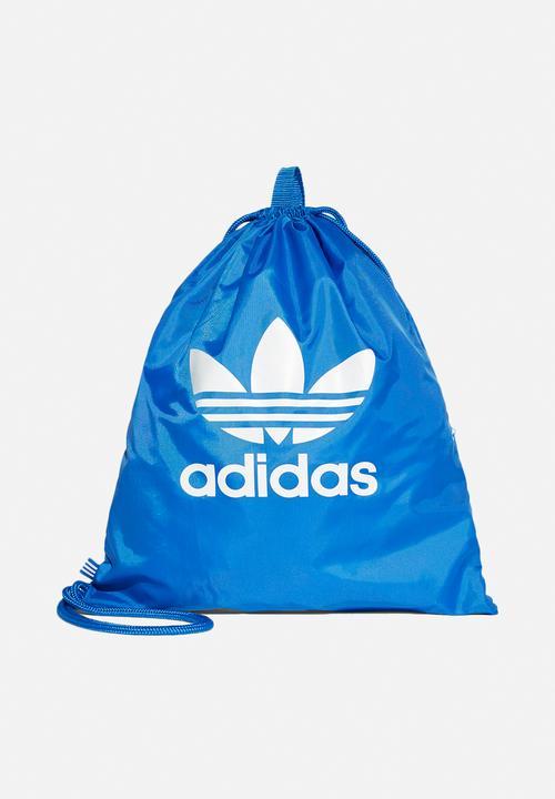 Gymsack Trefoil - Blue adidas Originals Bags   Wallets  e9d09d7bc75