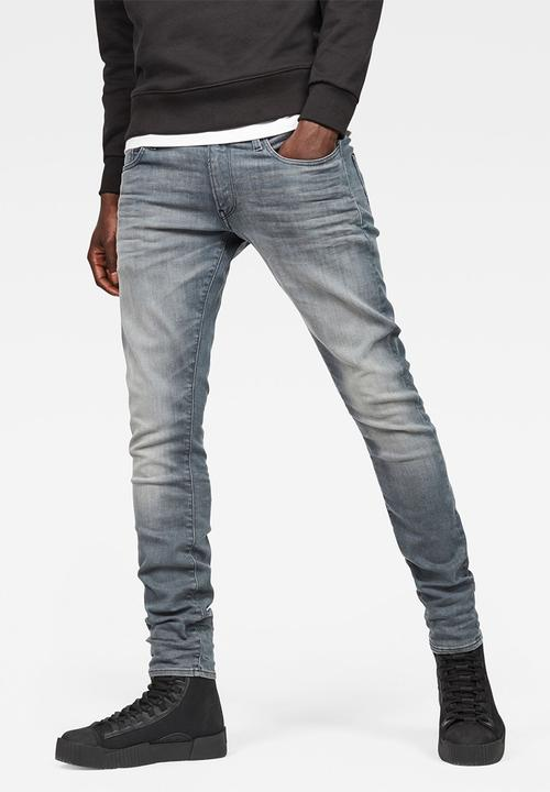 3a79822743f1 3301 Deconstructed Skinny Superstretch - Wess Grey G-Star RAW Jeans ...