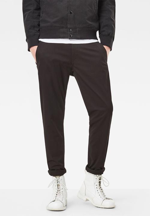 5048376d8b8bd Bronson slim chino - black G-Star RAW Pants   Chinos