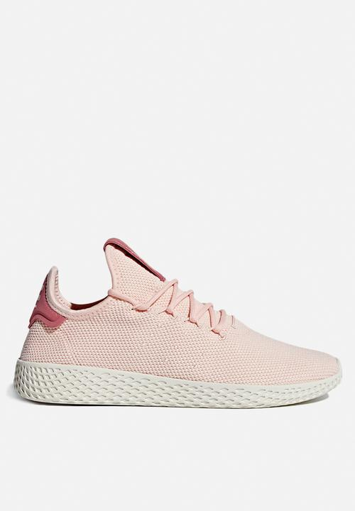 Pharrell Williams Tennis Chalk Hu Icey Rosa / Chalk Tennis Blanco adidas efe933