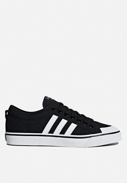 Nizza - Black   White adidas Originals Sneakers  73c1c78f5