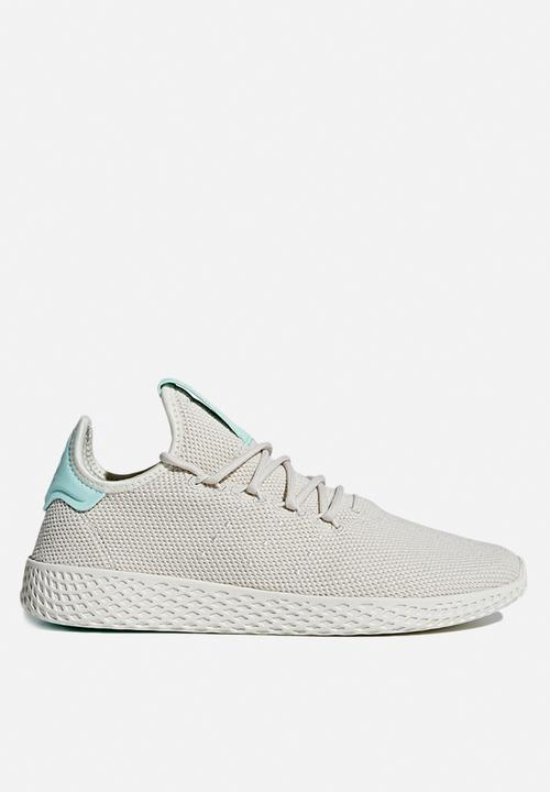 fa6a5ed30 Pharrell Williams Tennis Hu - Talc Talc Chalk White adidas Originals ...